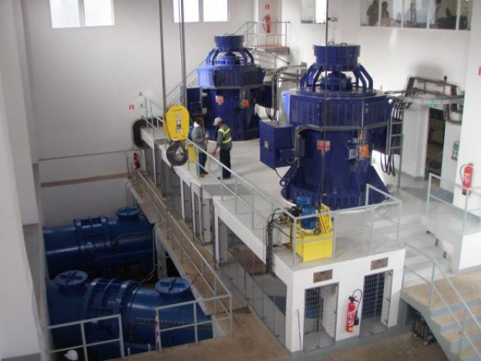 2 Vertical Francis. 2x3000kW