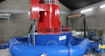 Vertical Pelton.  548kW